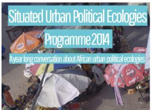 In 2014 Henrik Ernstson co-organized a host of events to kick off the Situated Urban Political Ecologies Collective, which was followed by key-publications in Antipode and Regional Studies.