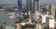Tanzanian cityscape