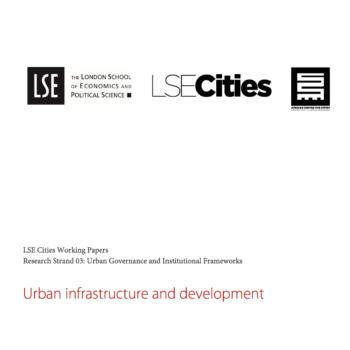 Urban infrastructure and development