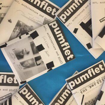MPhil 'pumflets' exhibition