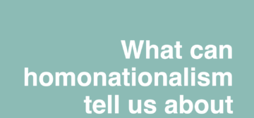 What can homonationalism tell us about sexuality in South Africa?