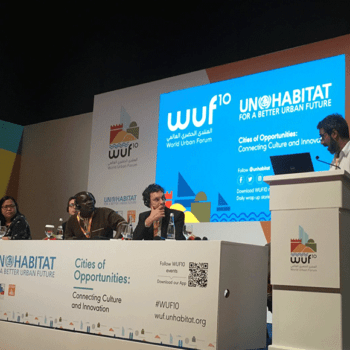 COI at the World Urban Forum – Cities of Opportunities: Connecting culture and innovation