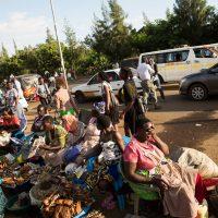 Kisumu street trading scene. Photo by Samantha Reinders