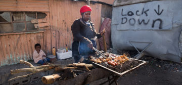 Planning and informal food traders under COVID-19 – the South African case