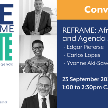 REframe 1: African Cities and Agenda 2063