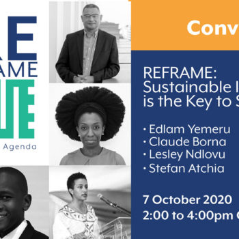 REframe 3: Sustainable Infrastructure as the key to success