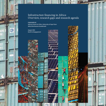 Infrastructure financing in Africa: Overview, research gaps and research agenda
